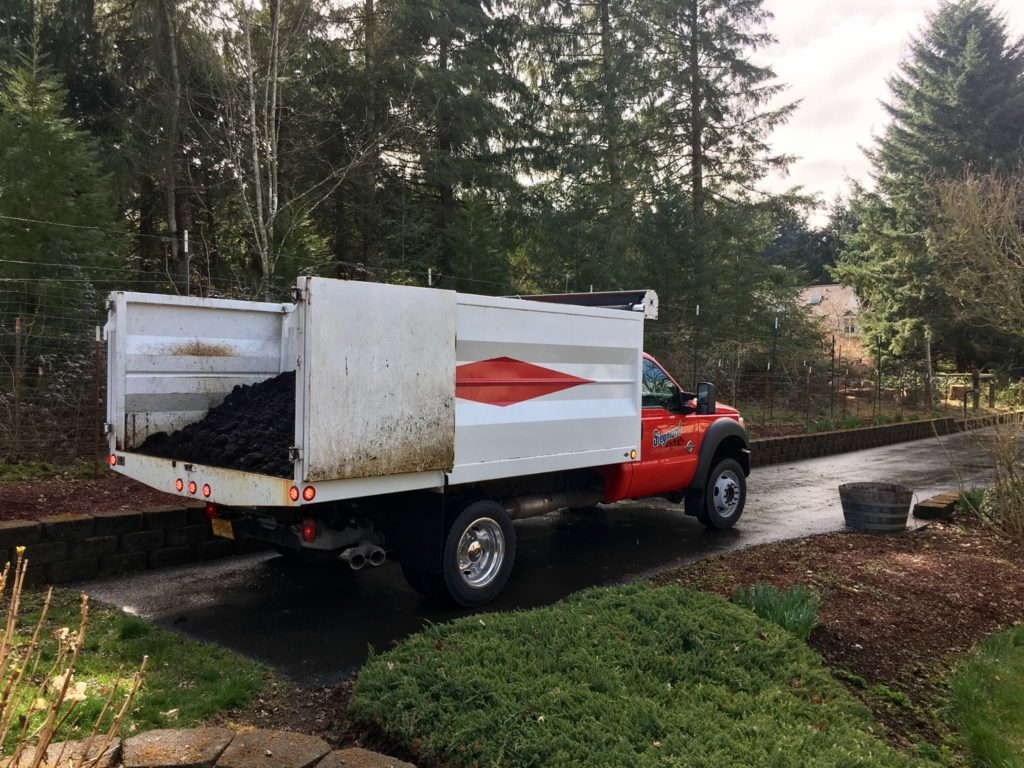 Delivering Landscape Supplies
