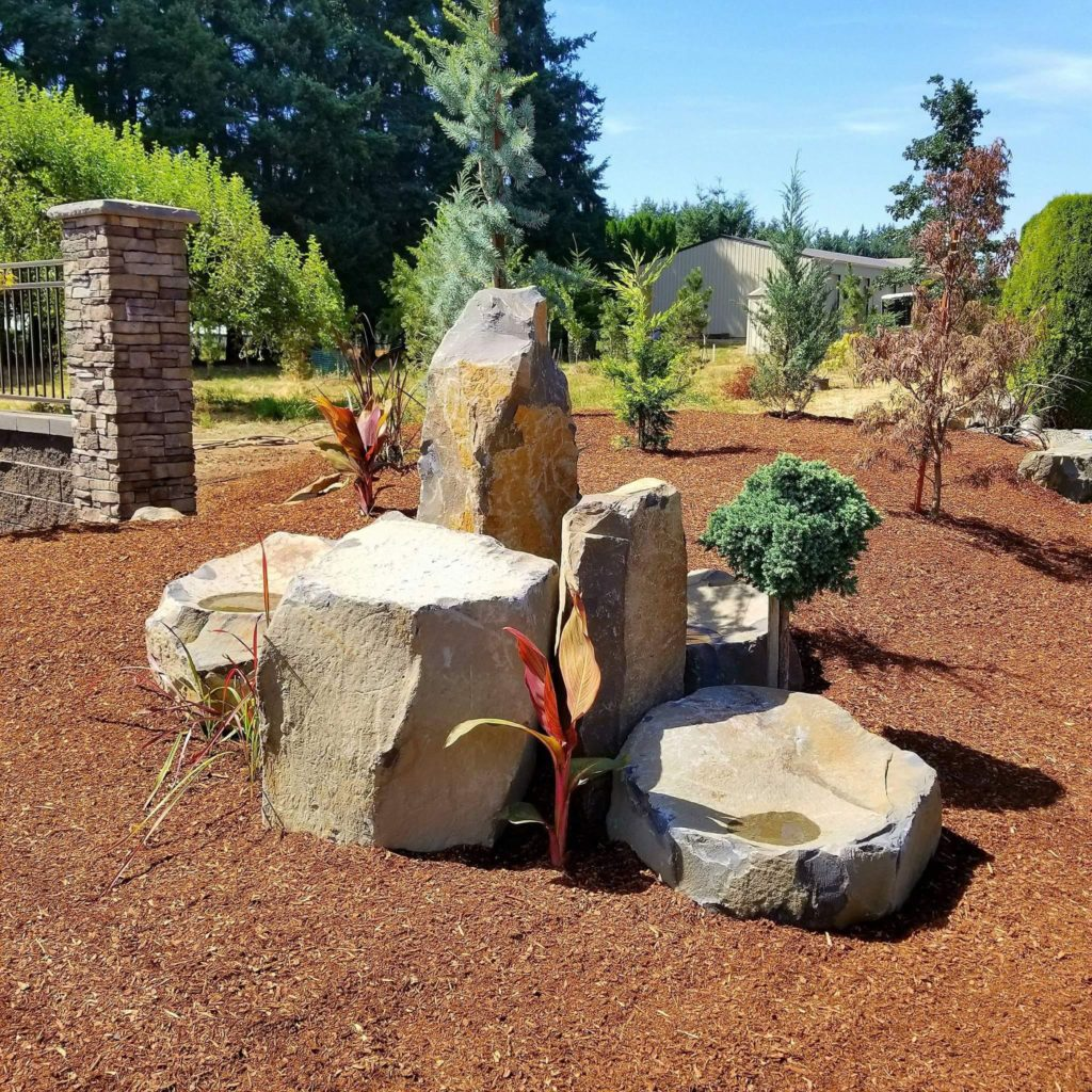 Santiam Canyon and Mid-Willamette Valley landscape contractors